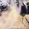Smėlio pernaša virš Saharos