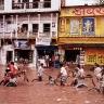 Potvynis Varanasyje (Indija)