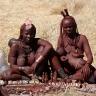 Himba moterys iš Namibijos