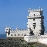 Belemo bokštas Lisabonoje, Težu upės žiotyse