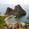 Smėlėtoji įlanka Baikalo ežere