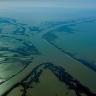 Misisipės delta per potvynį