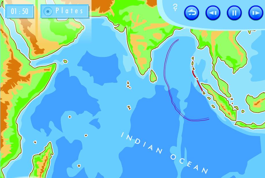 Cunamio sklidimas per vandenyną