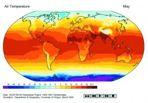 Oro temperaturos kitimas