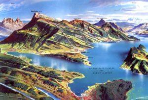 Keturiu kantonu ežeras