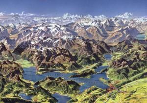 Keturiu kantonu ežeras2