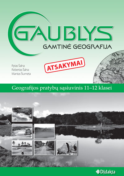 Gaublys gamtine geografija pratybos