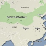 Kinijos zalioji siena