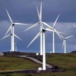 vėjo jėgainės Škotijoje