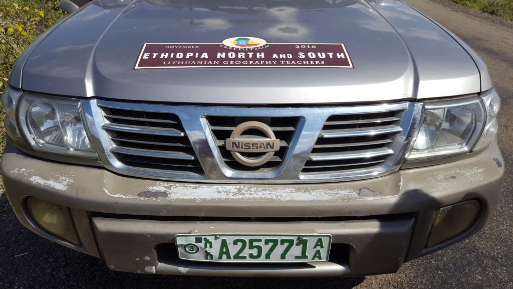 LGMA ekspedicija Etiopija NIssa Patrol
