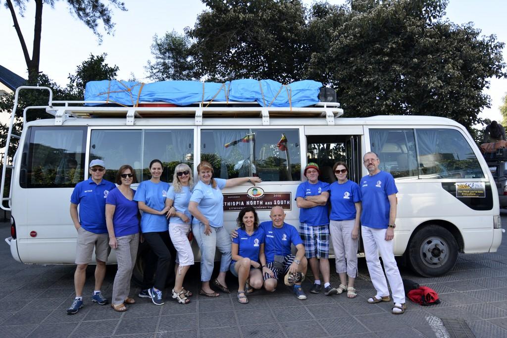 LGMA ekspedicijos startas Etiopija