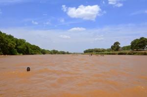 Omo upes vanduo