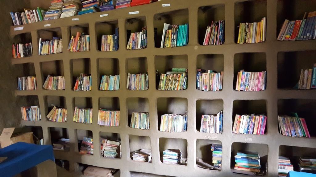Awaramba kaimas_kaimo_bibliotekos_lentyna