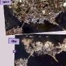 Gyvenvietė iki ir po 2004 metų garsiojo cunamio Indonezijoje