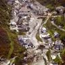 Patvinusios upės padariniai Alpių miestelyje