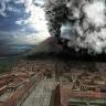 Vezuvijaus išsiveržimo rekonstrukcija (vaizdas iš Pompėjos)