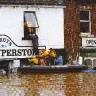 Potvynis Anglijos mieste Carlisle