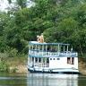 Turistinis laivas Amazonės džiunglėse
