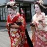 Maiko merginos Kioto mieste