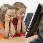 Netinkamas vaikams turinys internete